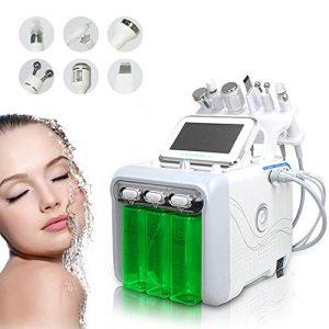 دستگاه هیدروفیشیال 6 کاره ( 6 در 1)- دستگاه میکرودرم مایع آکواجت 6 کاره- پاکساز و جوانساز پوست