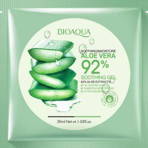 ماسک نرم کننده و مرطوب کننده آلوئه ورا بیو آکوا Bioaqua smoothing & moisture aloe vera 92%