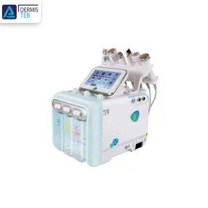 دستگاه هیدروفیشیال H2O2 لایه بردار پوست مرطوب کننده پوست اکسیژن مراقبت از پوستH2O2 Hydra Facial Machine Peeling Skin Moisture Whitening Oxygen Skin Care